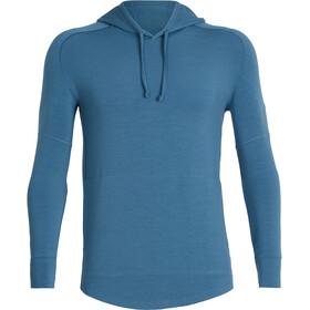 Icebreaker Momentum Running Shirt longsleeve Men blue